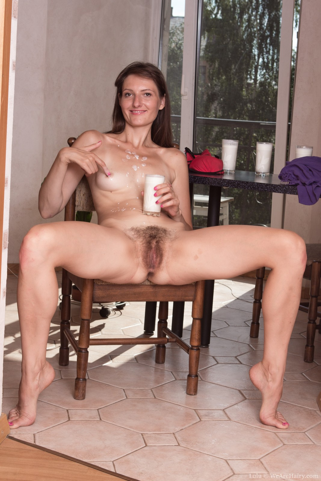 teacher barb sat on her dildo