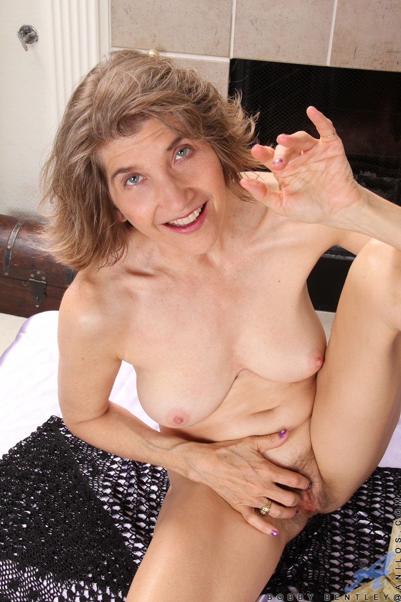 Hairy granny slut Bobby Bentley