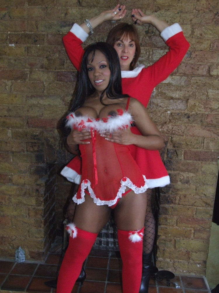 Christmas mature interracial sluts