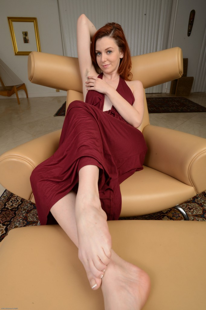 Legs woman natural hairy
