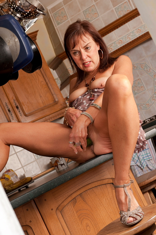 slutty mature shows pussy cunt, but with