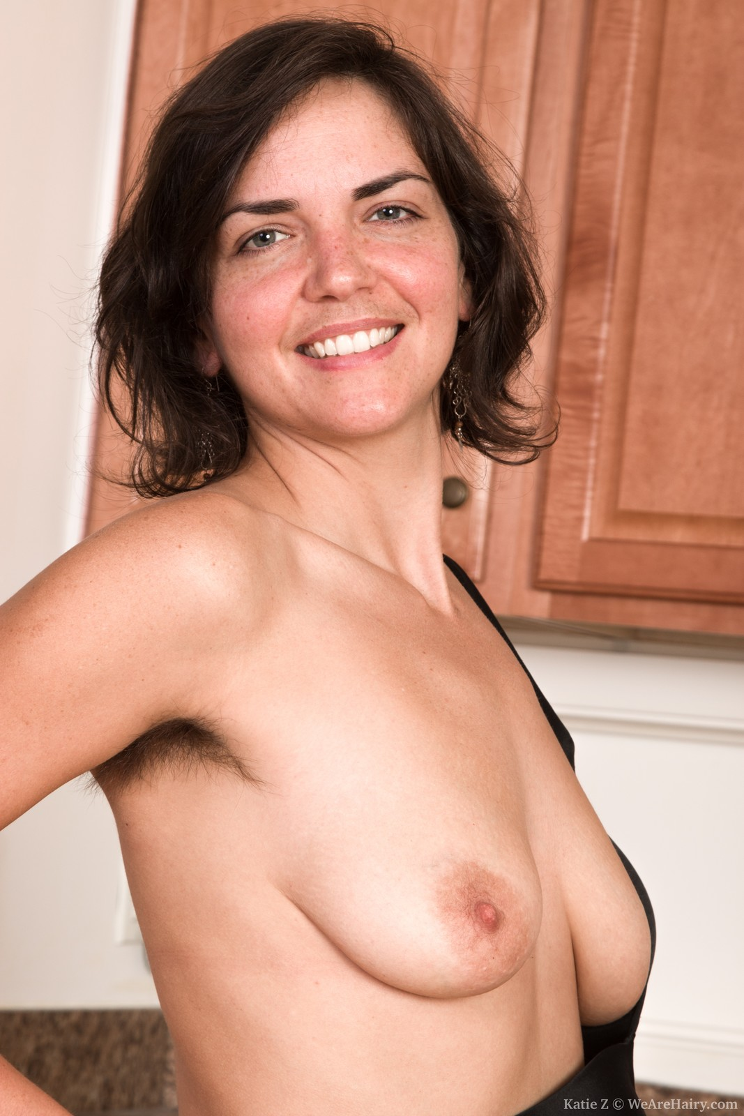 Mature hairy nude babe
