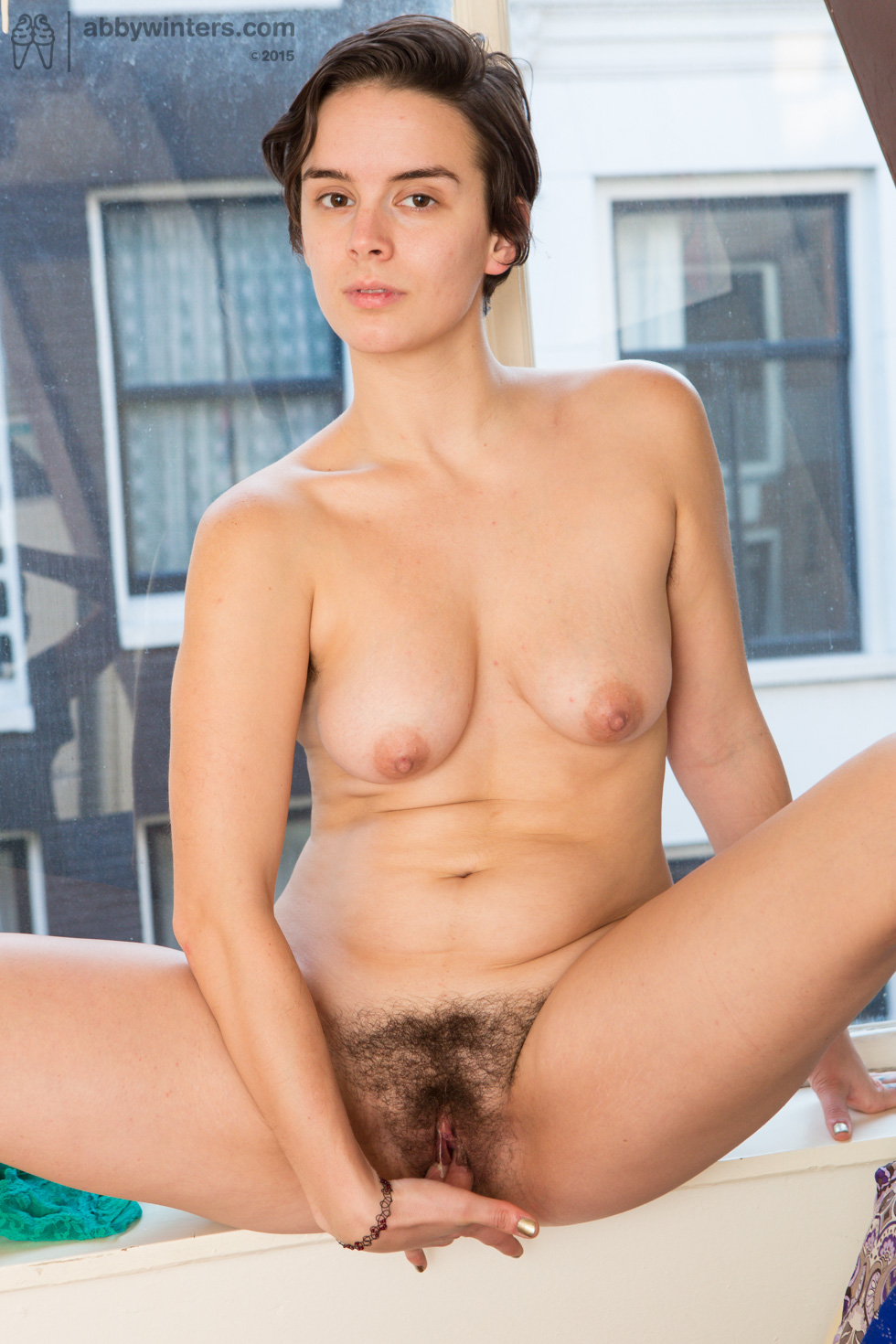 Shes mature hairy masturbates