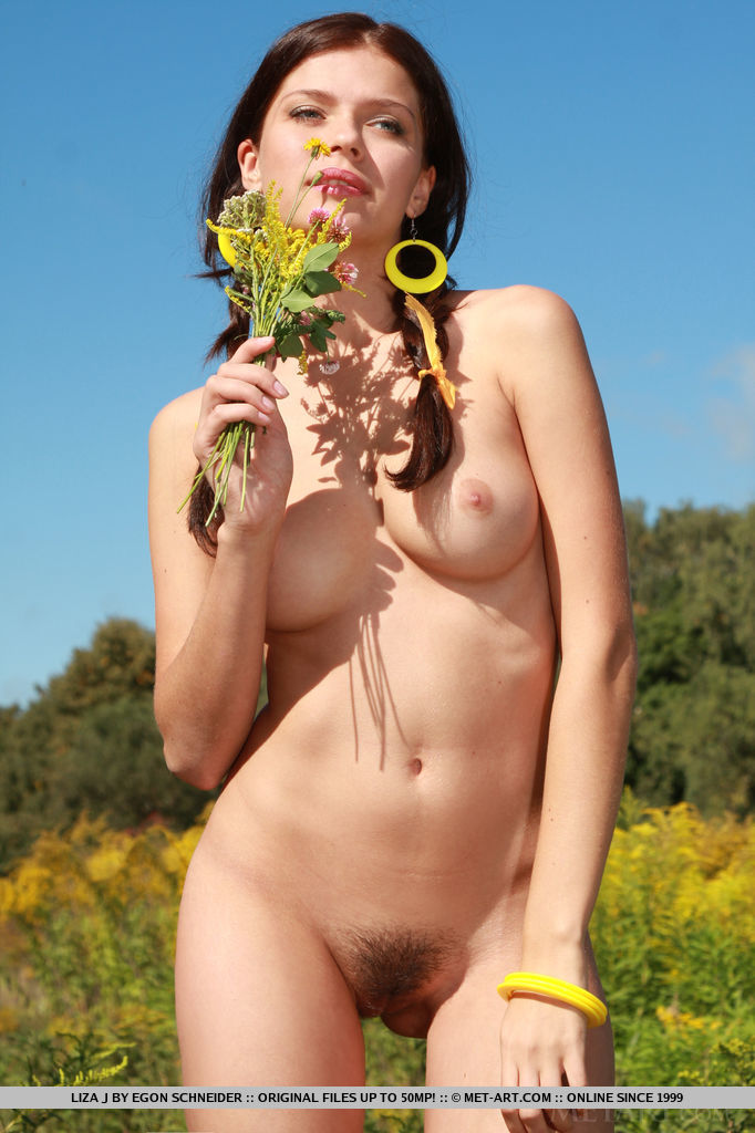 Hairy naked girls outdoor #6
