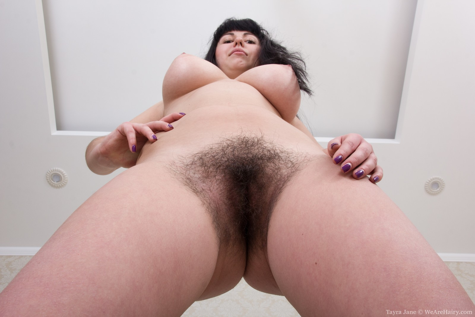 Naked girls hairy real
