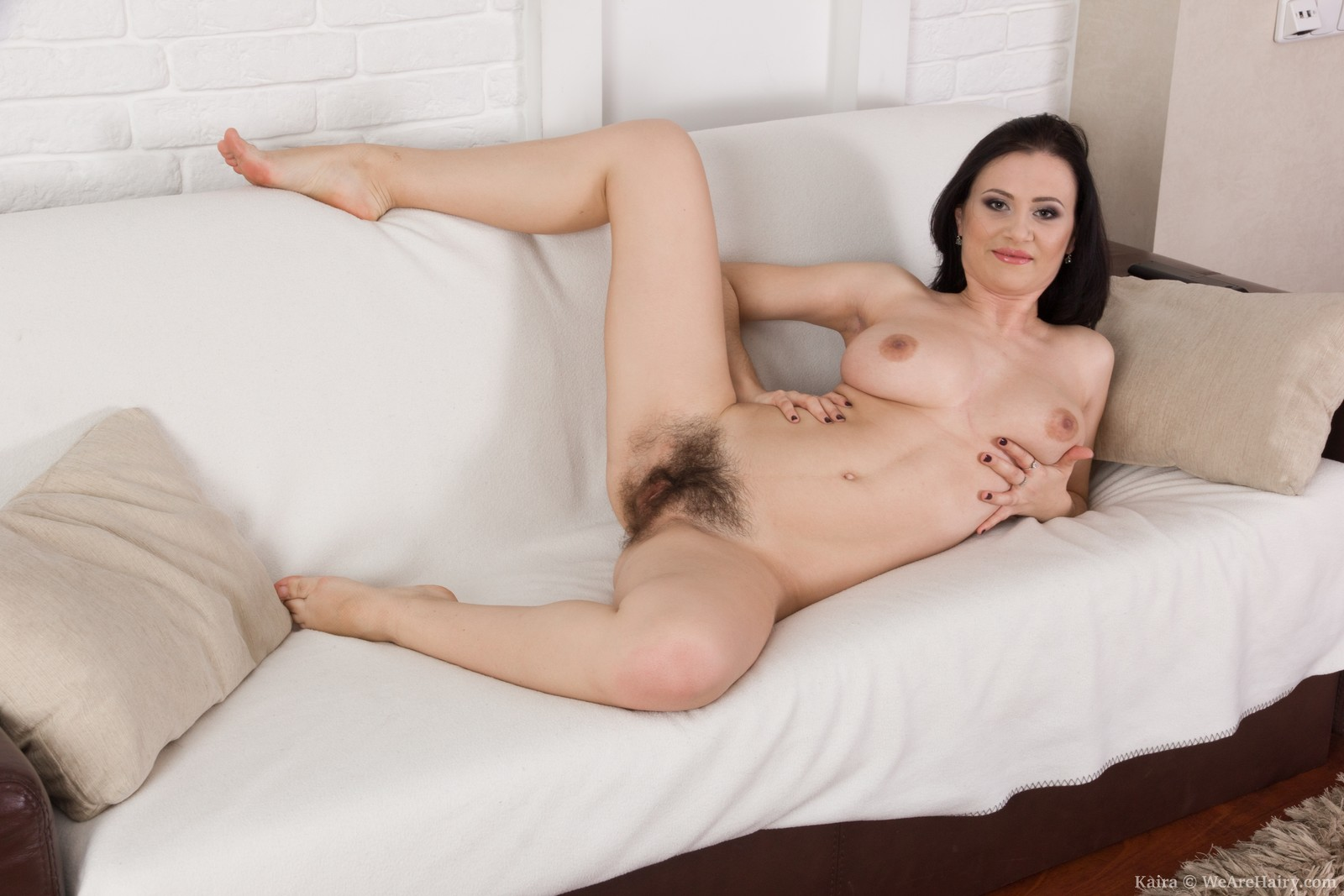 hairy stocking lady