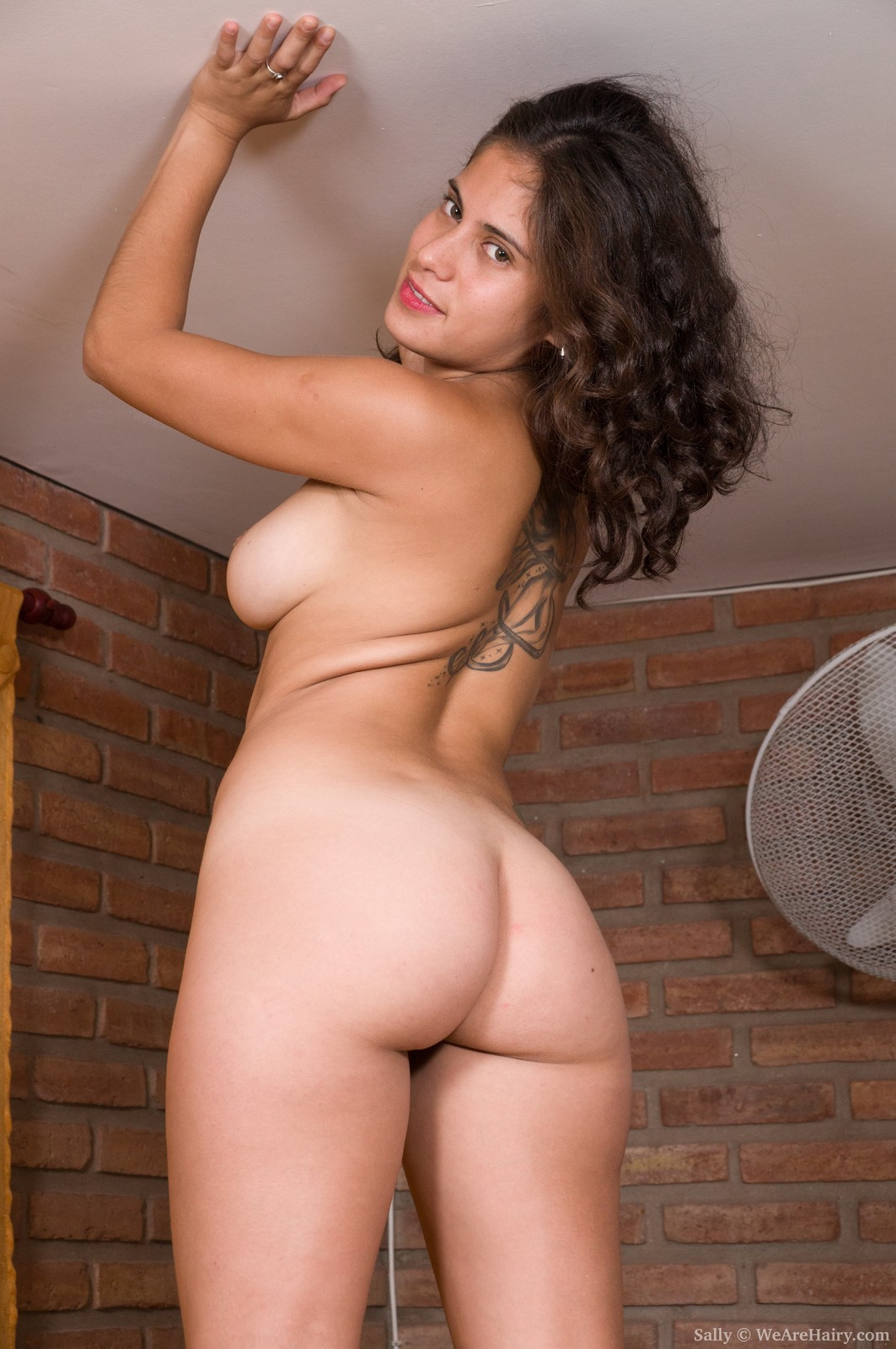 naked latina girls with hairy pussy