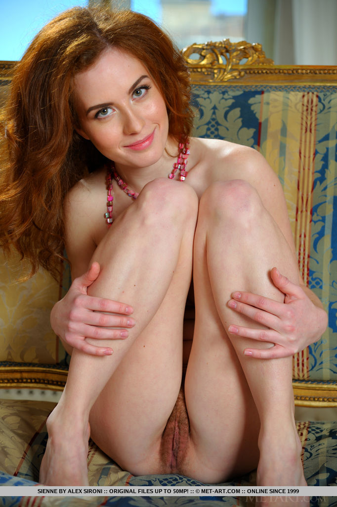 The most cute naked girl, pussy face sitting