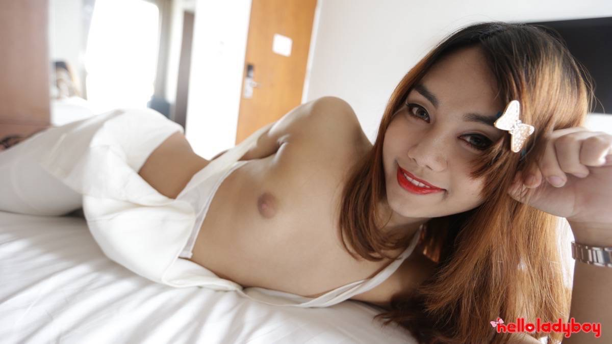 Pretty Asian ladyboy