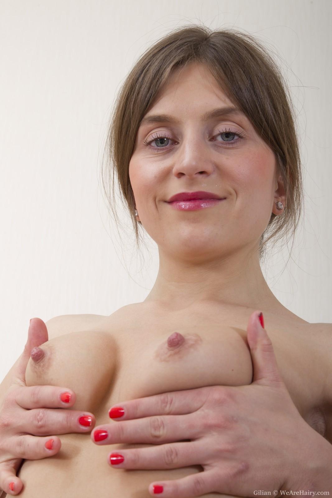 Gilian loves strips naked
