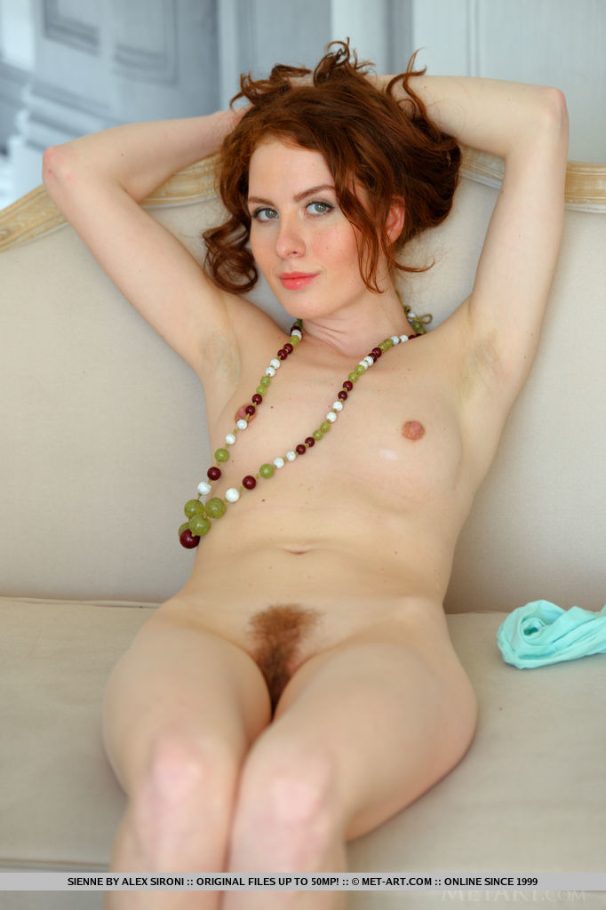 Red hair green eyes naked