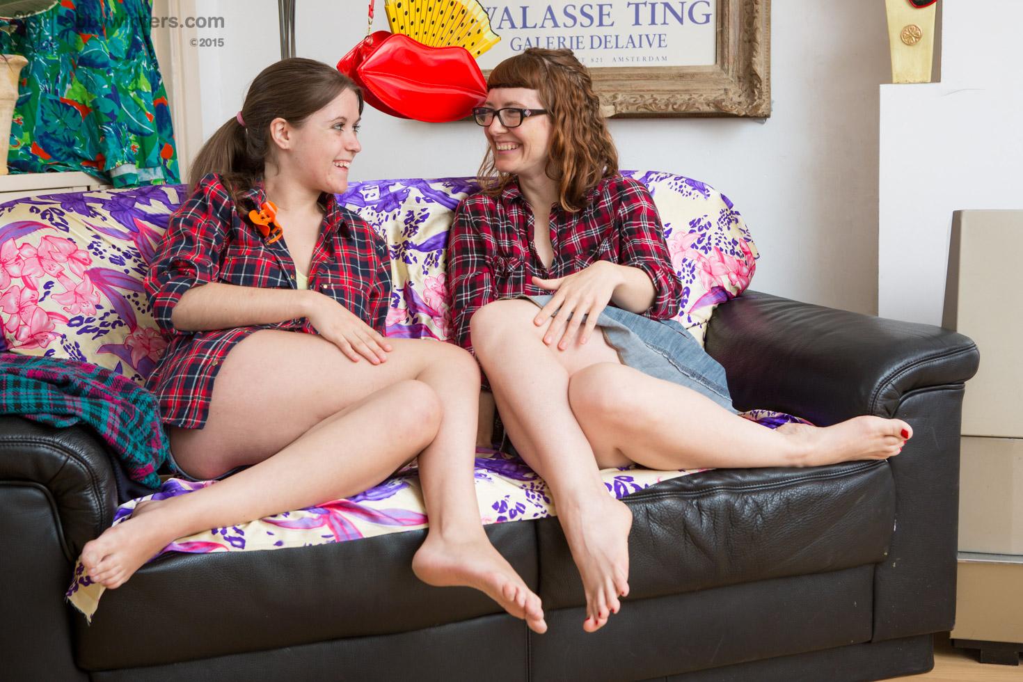 lesbians tribbing hairy Amateur