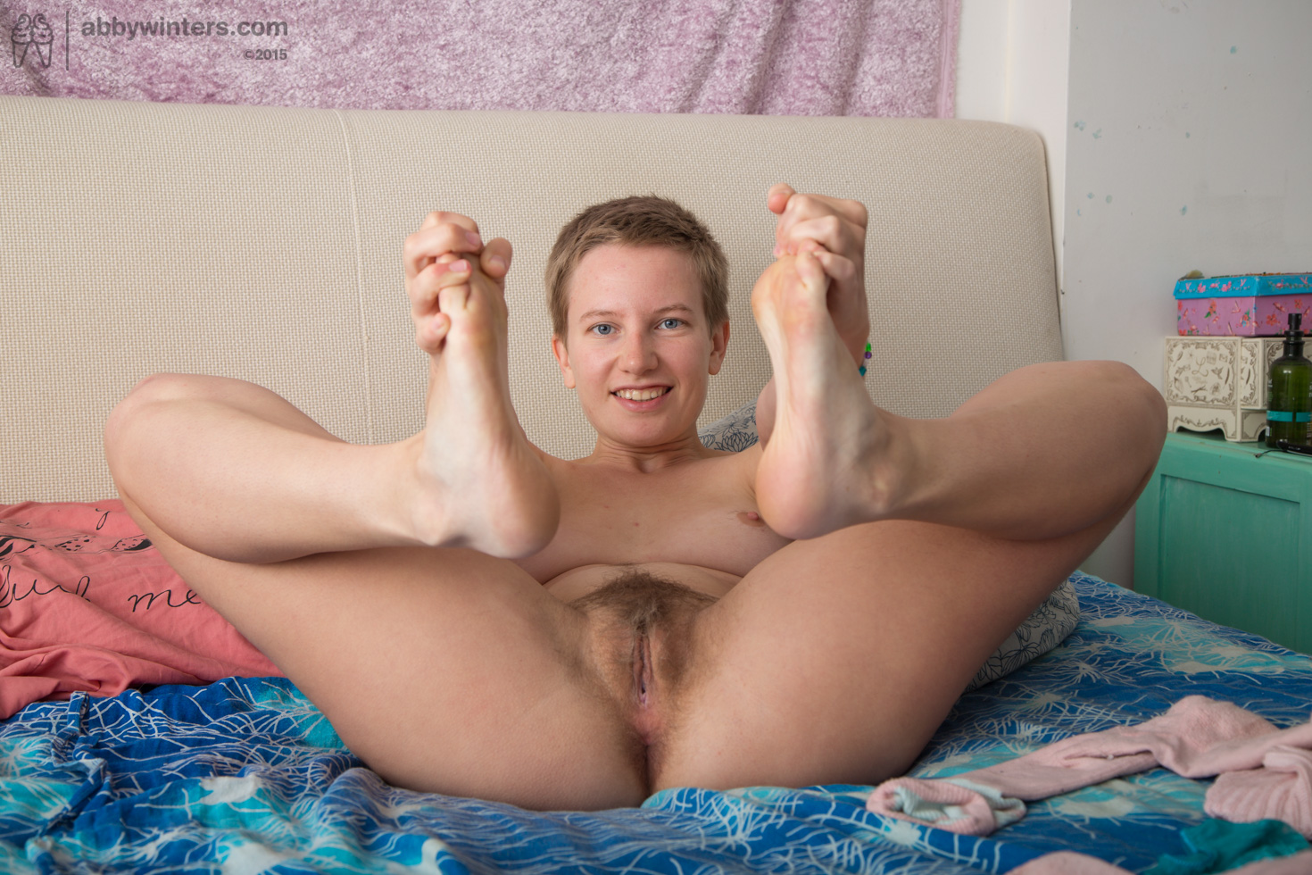 from Cassius amateur nude with short hair