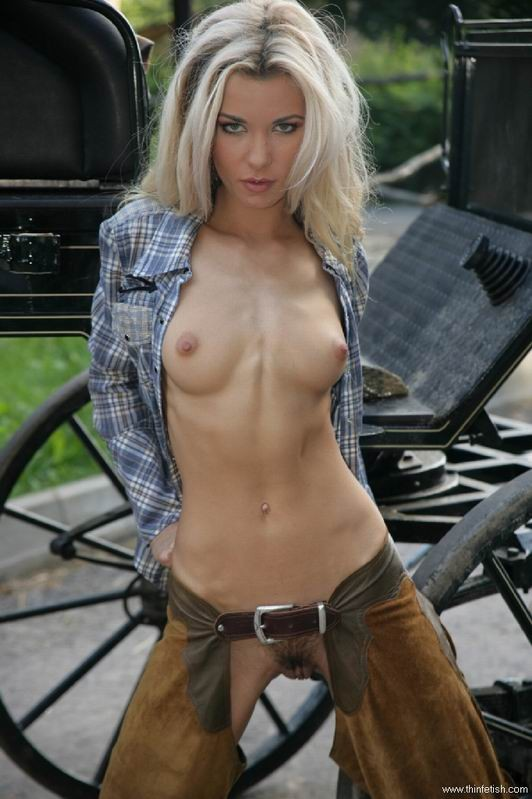 Sexy Naked Cowgirls In Chaps