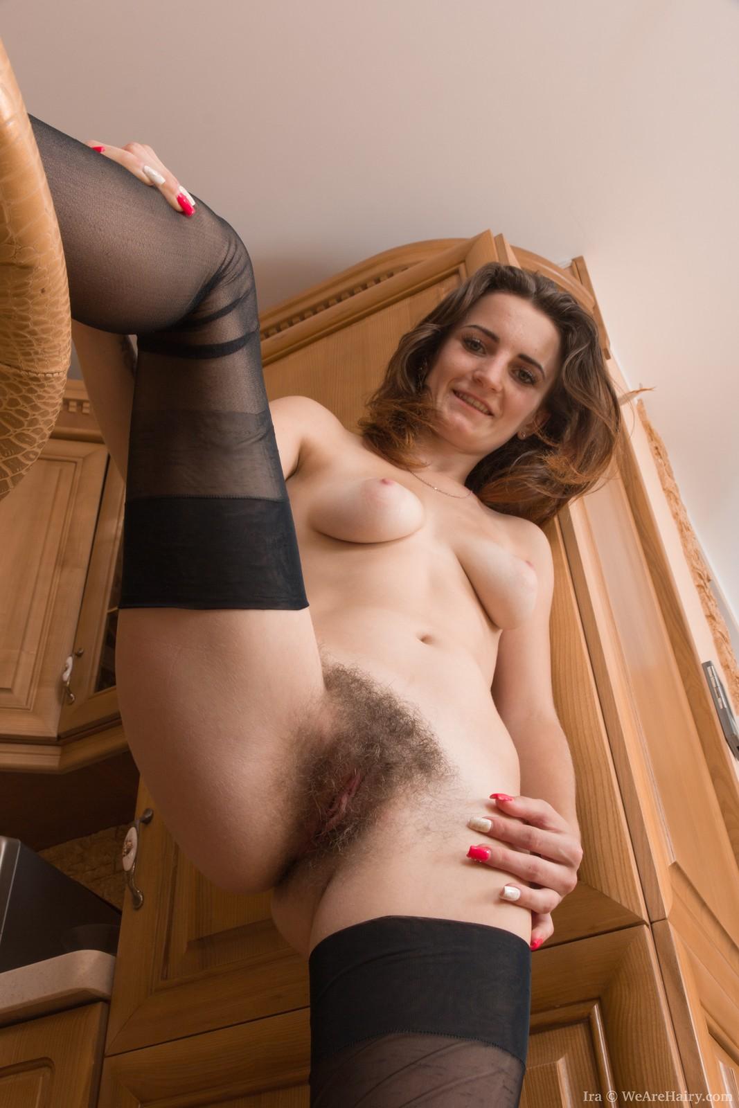 Pantyhose Hairy