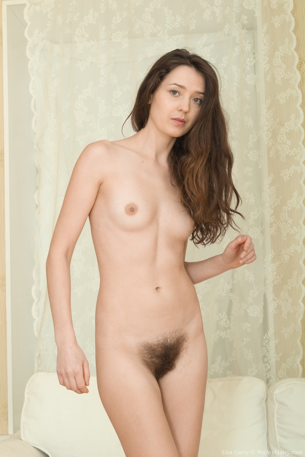 hairy pussy ru Lisa Carry from WeAreHairy.com