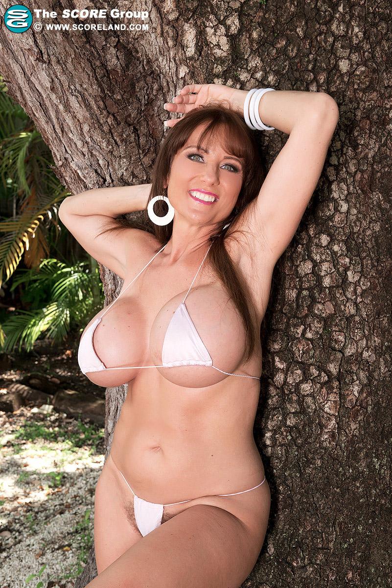 hairy bikini models