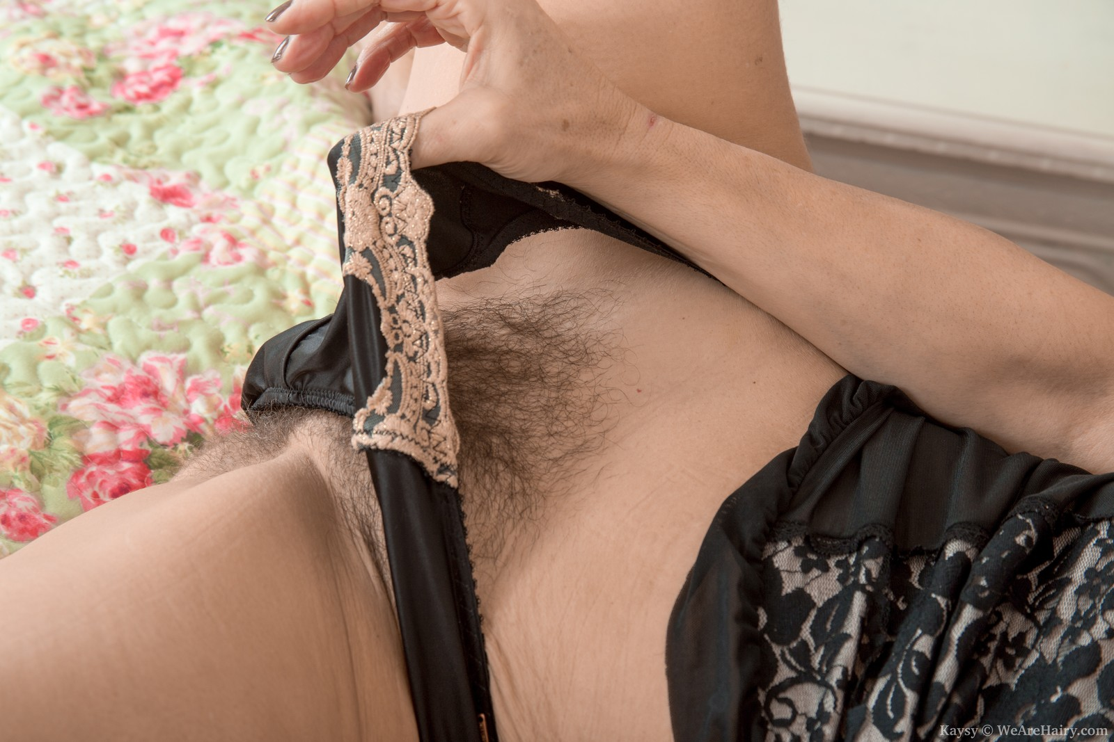 European hairy mature Kaysy