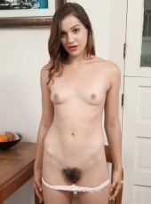 Kasey Warner naked and hairy