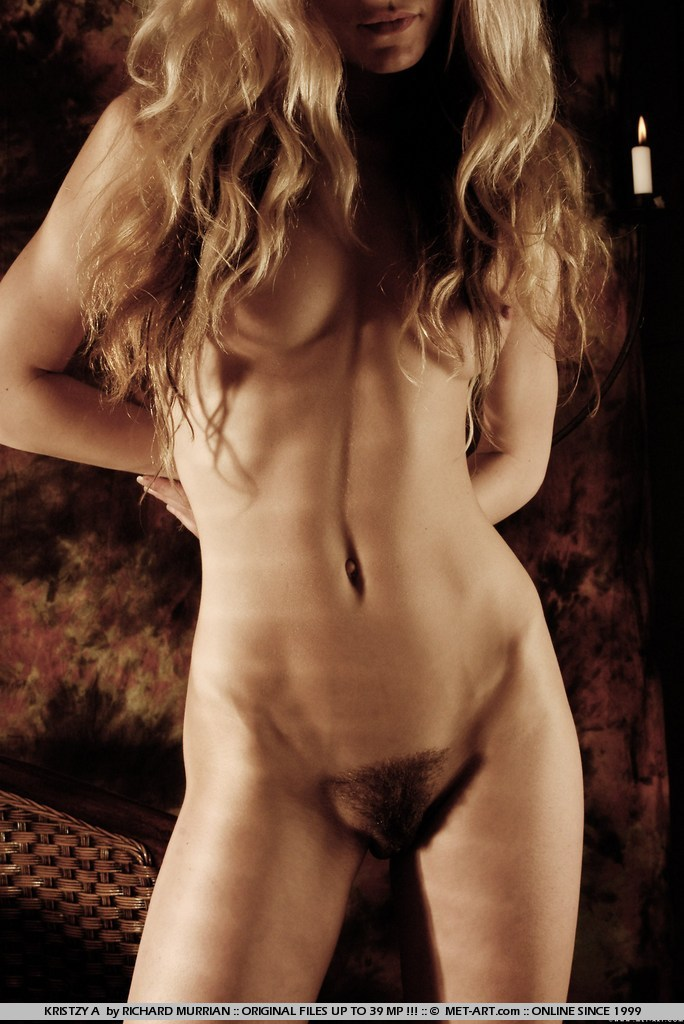 Hairy babe erotic poses