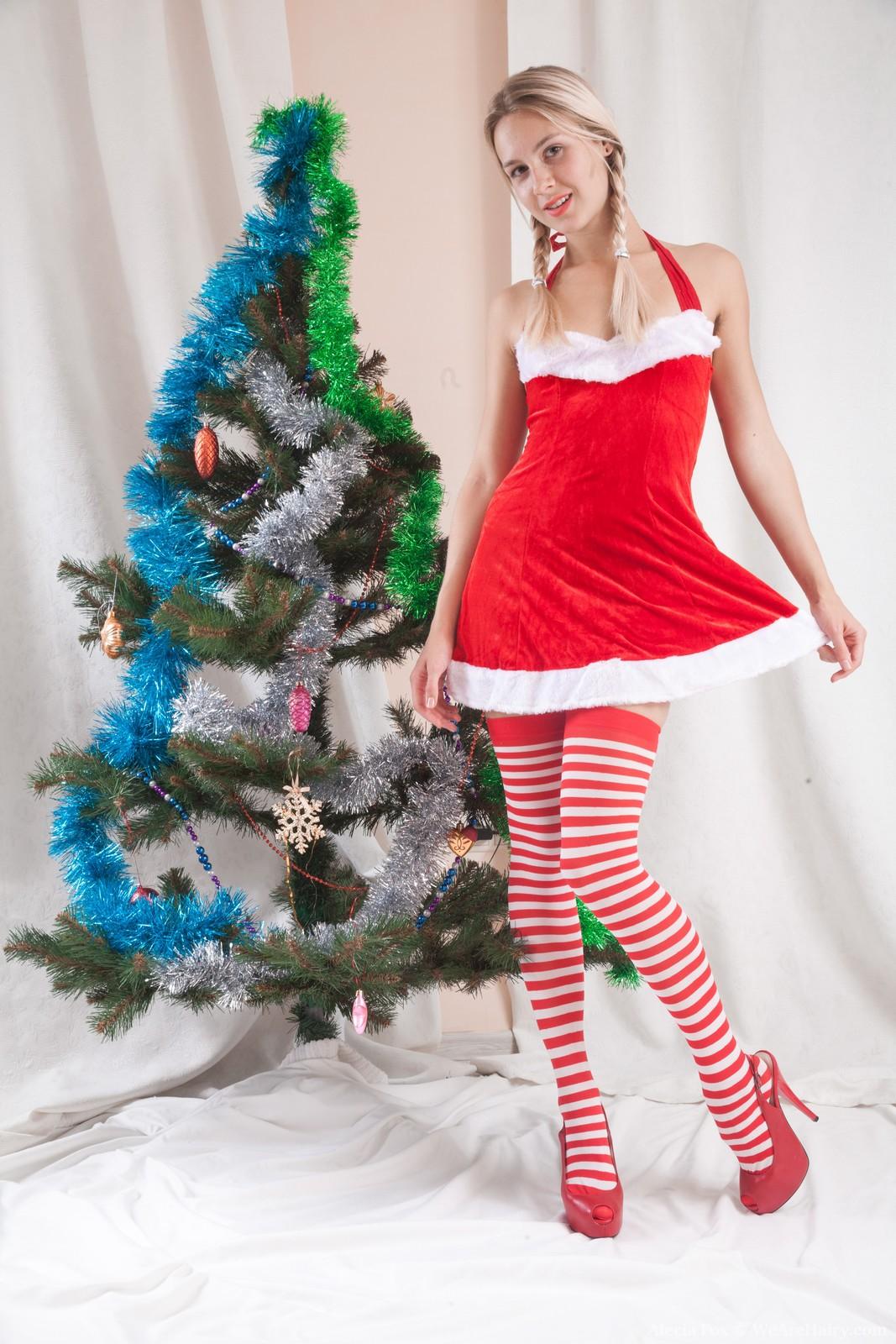 Alecia Fox celebrates Christmas