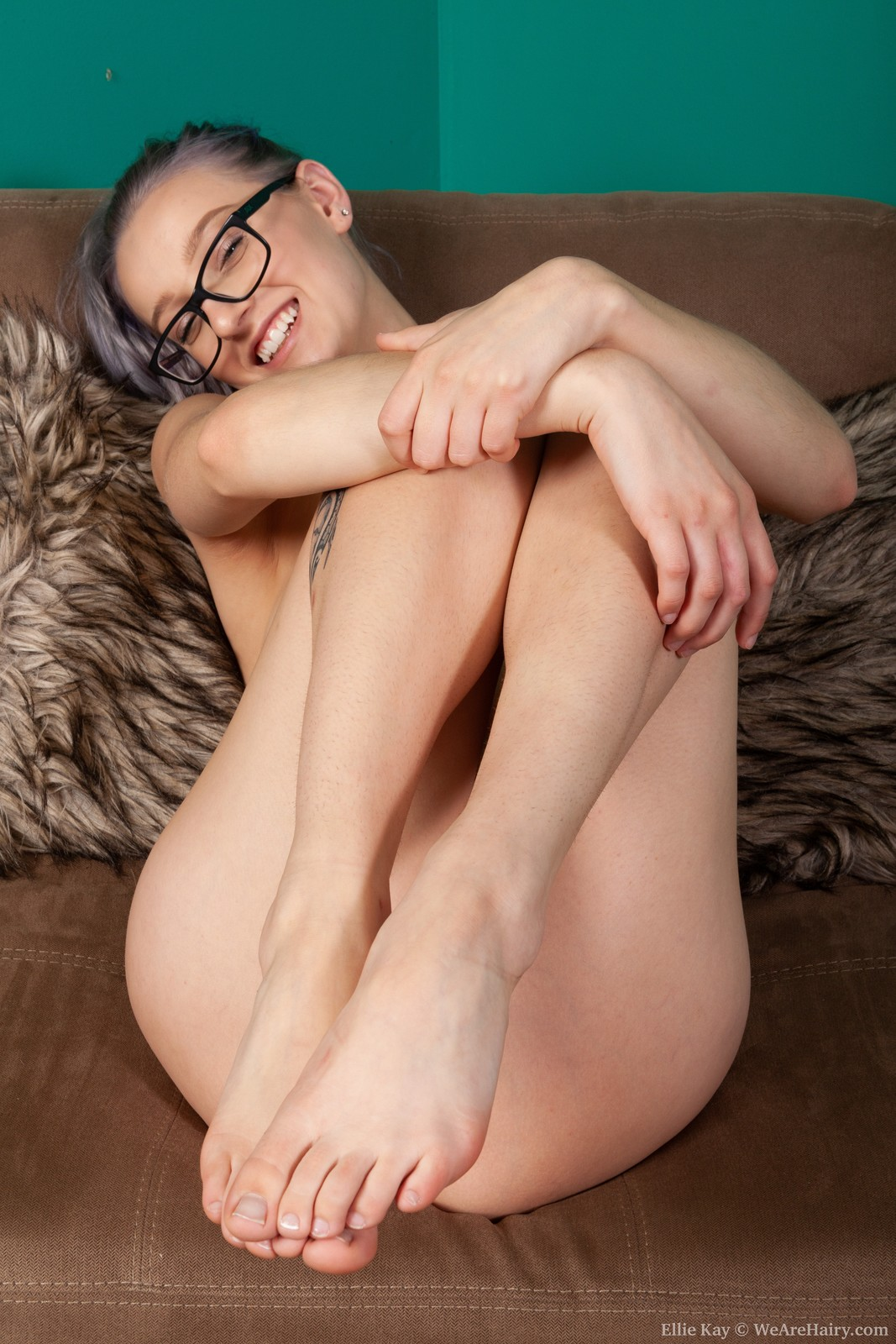 ellie kay enjoys stripping naked the hairy lady blog