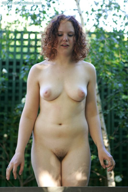 Hairy amateur girl