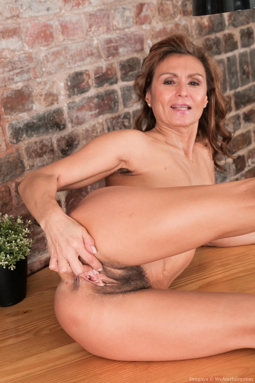 Sexy hairy nude women