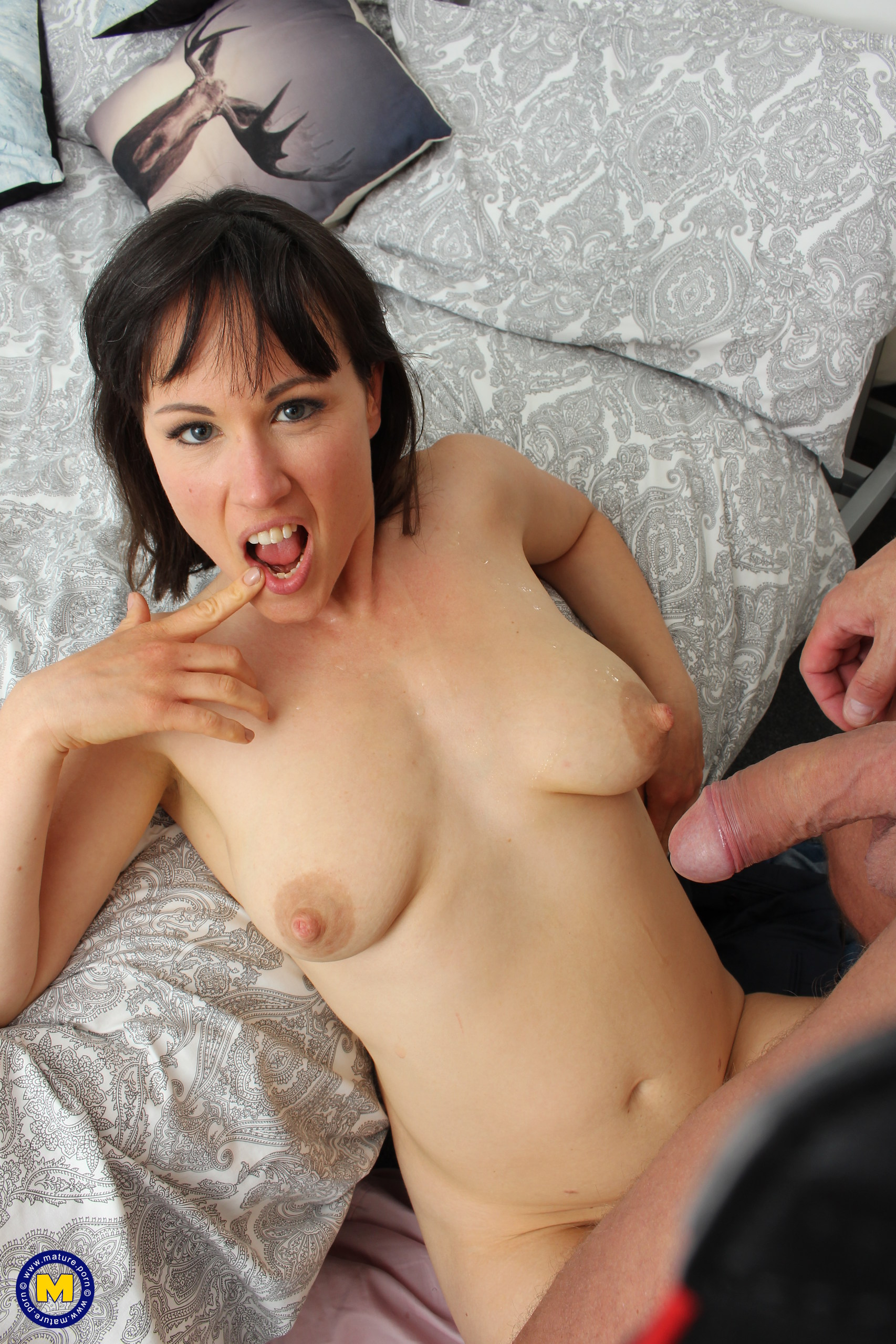 Horny mature Lucy Love