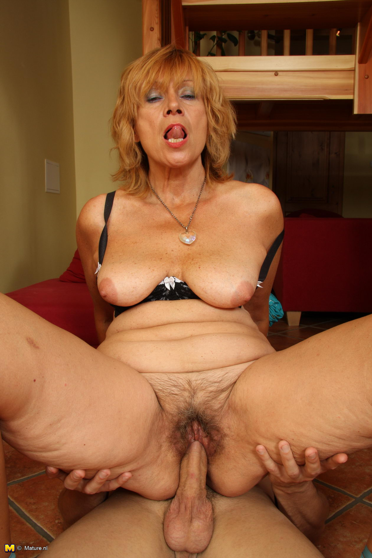 French Hairy Mature Anal
