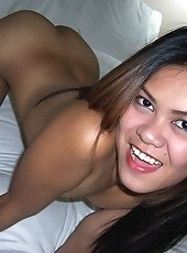 Horny hairy pussy Filipina girl
