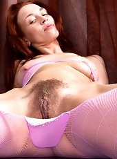 Hairy Tri gets penetrated once she is home alone