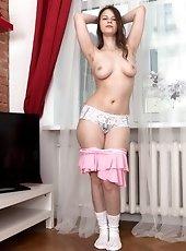 Nude busty girl Beata